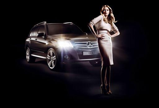 Eva Padberg, Mercedes-Benz, GLK, fashion