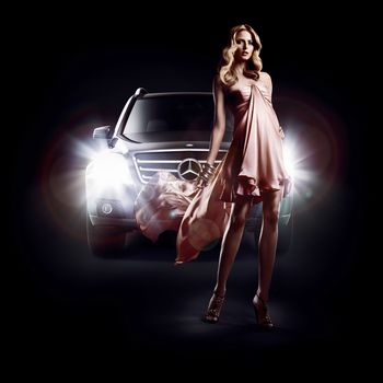Eva Padberg, Mercedes-Benz, GLK, fashion