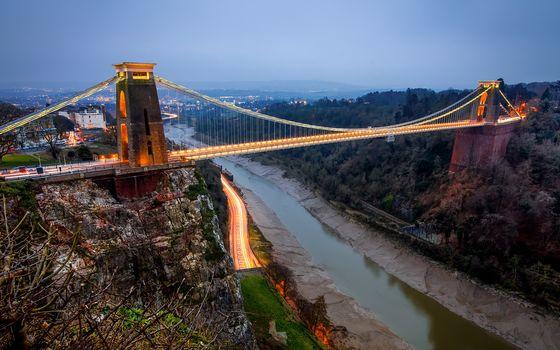 Clifton Suspension Bridge, Bristol, england, GB