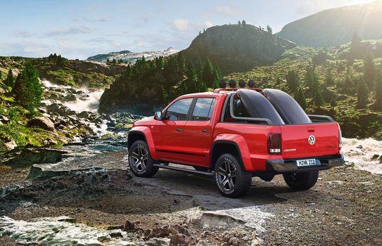 Volkswagen, Amarok, Canyon, concept, 2012