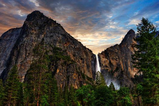 Yosemite National Park, сша, пейзаж