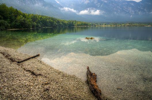 Lake Bohinj, Northern Slovenia, landscape