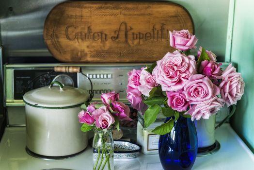 natură, flori, Floare, Roz, trandafir, trandafiri, buchet