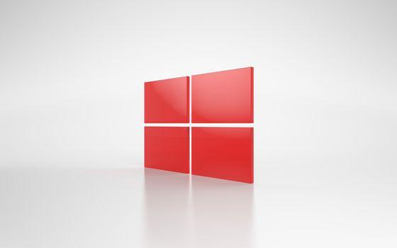 windows, wallpaper, computer, operating system, emblem