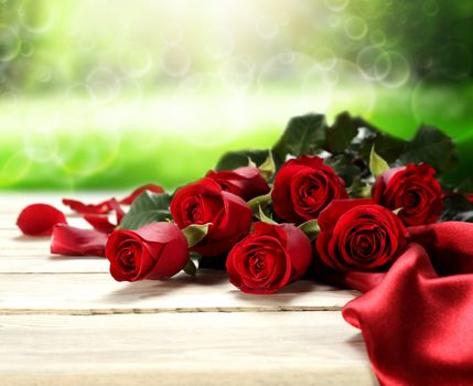 nature, flowers, Flower, red, roses