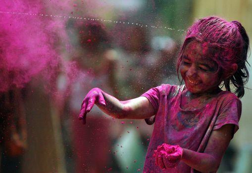 joy, festival of colors, rainbow