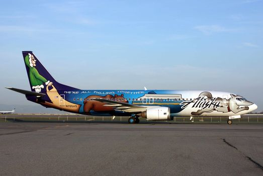 plane, Liner, aviation, Boeing, aircraft