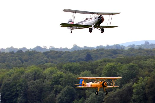 trees, sky, aircraft, forest, blur