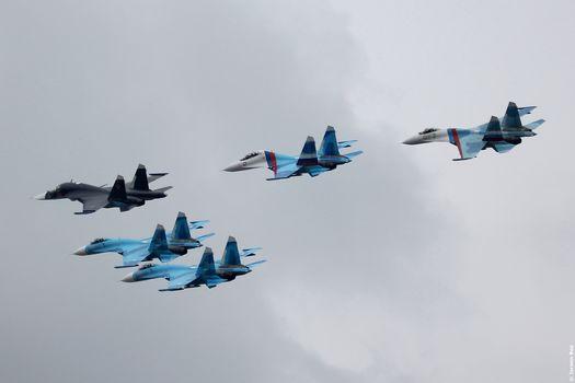 BBC Rosii, aircraft, SU, fighters