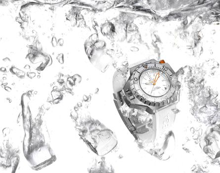 water, hi-tech, watch