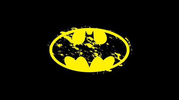 фон, лого, Бэтмен