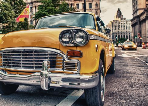 машина, ретро, город, дорога, Aston Martin