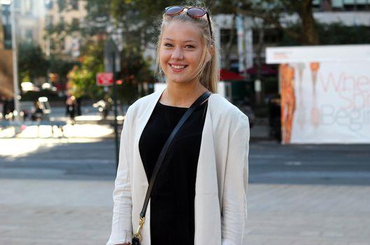 Erica Mohn Kvam, white beauty, blond