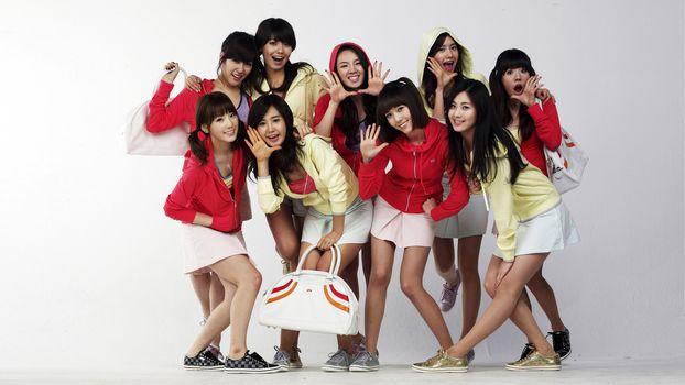girls, fashion, smile