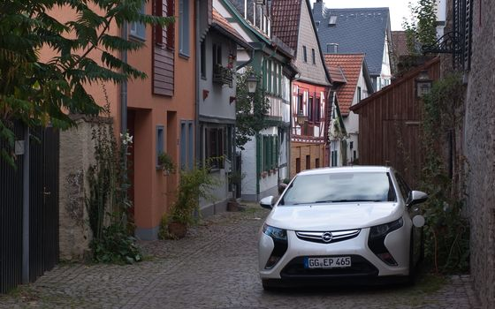 Electric, Opel, Ampere, Opel, Ampera, charging, Technology, Germany, home, street