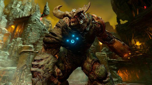 Doom 4, Cyberdemon, Cyberdemon, demon, monster