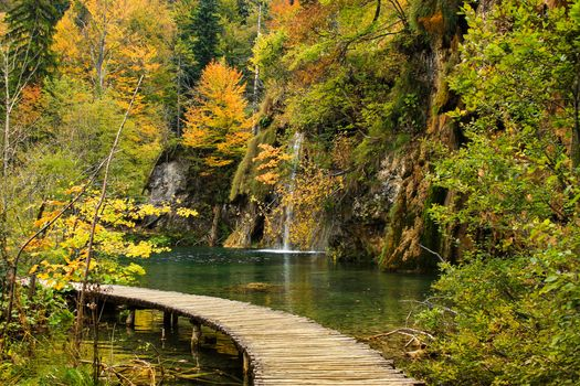 autumn, Plitvice Lakes National Park, croatia