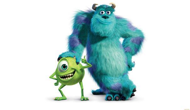monsters Inc, multgeroya, Pixar
