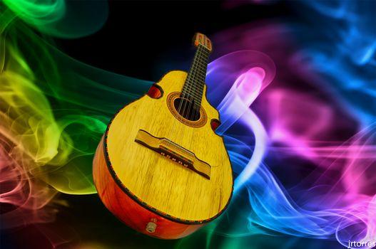 musical, tool, guitar