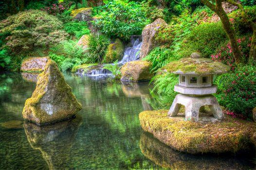 Japanese Garden, garden, park, landscape