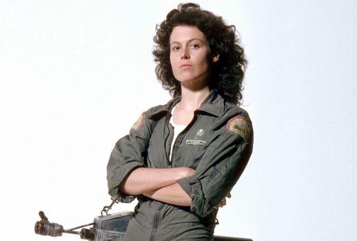Sigourney Weaver, Alien, flamethrower