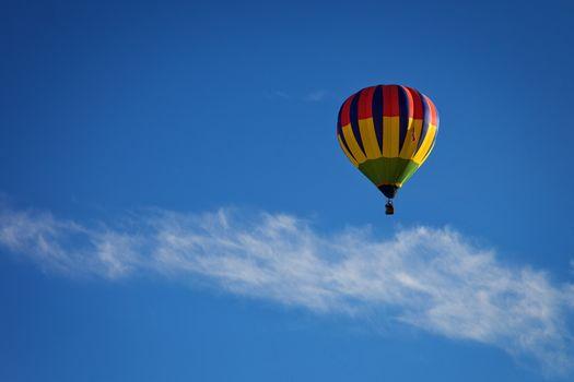 hot air balloon, Aerostat, balloon, sky