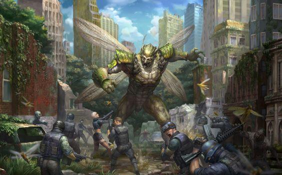 Counter-Strike Nexon: Zombies, Counter-Strike, monster, monster, people