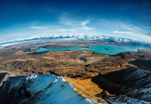 nature, landscape, overview, panorama, Mountains, SPACE, height