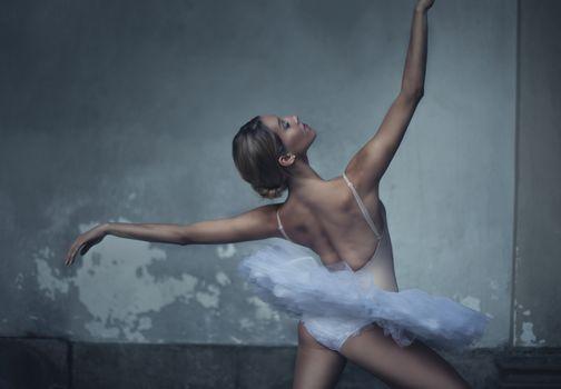 girl, ballerina, ballet, dance, pose