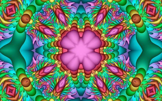 symmetry, geometry, pattern, abstraction, fractals, kaleidoscope