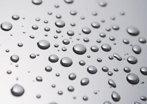 TEXTURE, eau, bulles, gouttes, pulvérisation, splash, Macro, fond