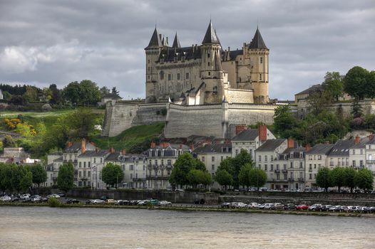 Chateau de Saumur, castle, France