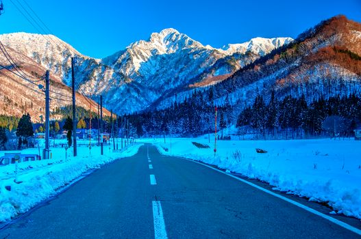 Mount Taishan, China, doroga.peyzazh