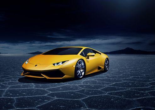 Lamborghini, machine, car