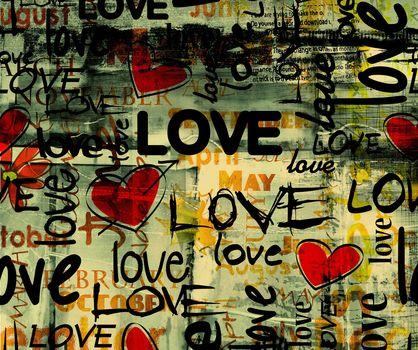 Personas by Kisenok, Valentine, Valentine's Day, holiday, heart, hearts, Heart, inscriptions