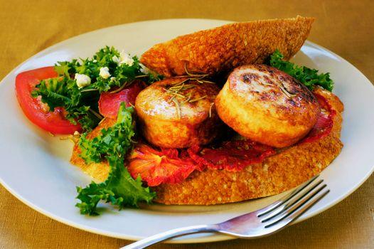 food, Food, cookery, Food, sandwich, appetizer, greens, bread