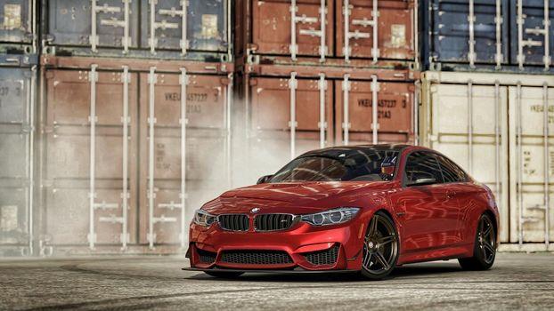Forza Motorsport 6, BMW M4, красный