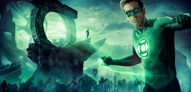 Green Lantern, fantasy, thriller, thriller, film, movie, film, Poster, panorama
