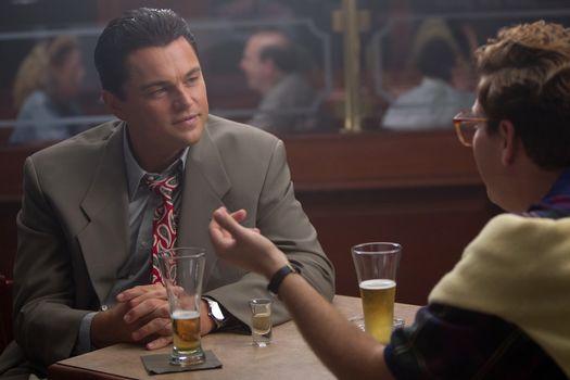 The wolf of Wall Street, film, film, drama, comedy, crime, biography, Leonardo DiCaprio, Jonah Hill, of the film frame