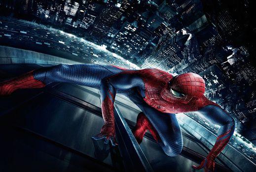 Spider-Man, Spiderman, fantasy, thriller, Adventures, film, film, frame of film