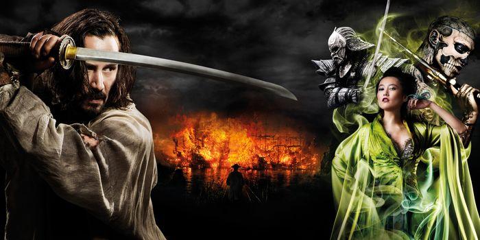47 ronin, Fantasie, Thriller, Drama, Adventures, Film, Keanu Reeves, Poster