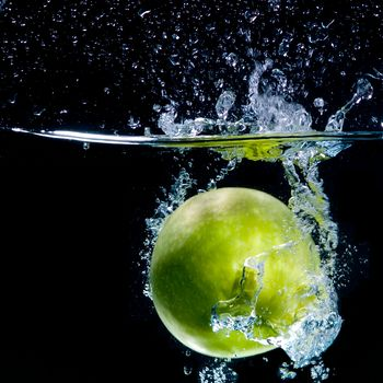 apple, LIQUID, fruit, spray, water