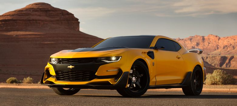 Transformers 5 The Last Knight, Transformers, Custom Chevrolet Camaro, Bumblebee, Chevrolet Camaro