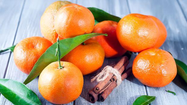 Mandarins fruits