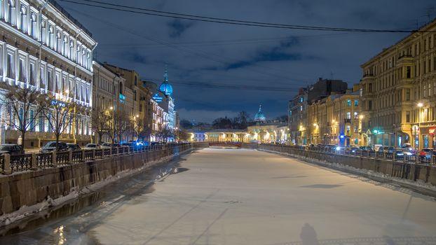 Красный мост, Санкт-Петербург