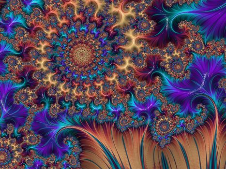 Fractal, abstraction, fractal, patterns