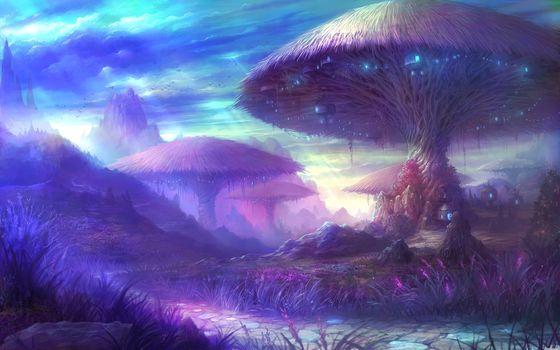 trees, fantasy