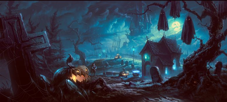 Halloween, halloween, one of the oldest holidays in the world, fantasy