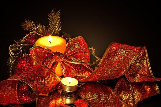 Navidad, fondo, diseño, elementos, fondos de pantalla de Año Nuevo, nuevo año, nuevo estilo, decoración Novogodnyaya, juguetes, ornamentación, velas, fuego, fuego, illyuminatsiya