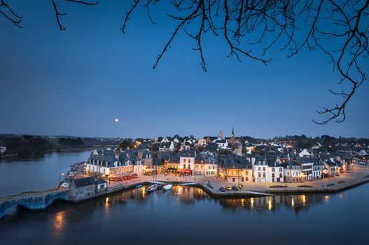 Port Saint Goustan in Auray, Morbian, Brittany, France